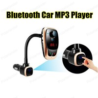 Universal Wireless Bluetooth Car Kit Hands free FM Transmitter MP3 Player With Audio USB Car Charger