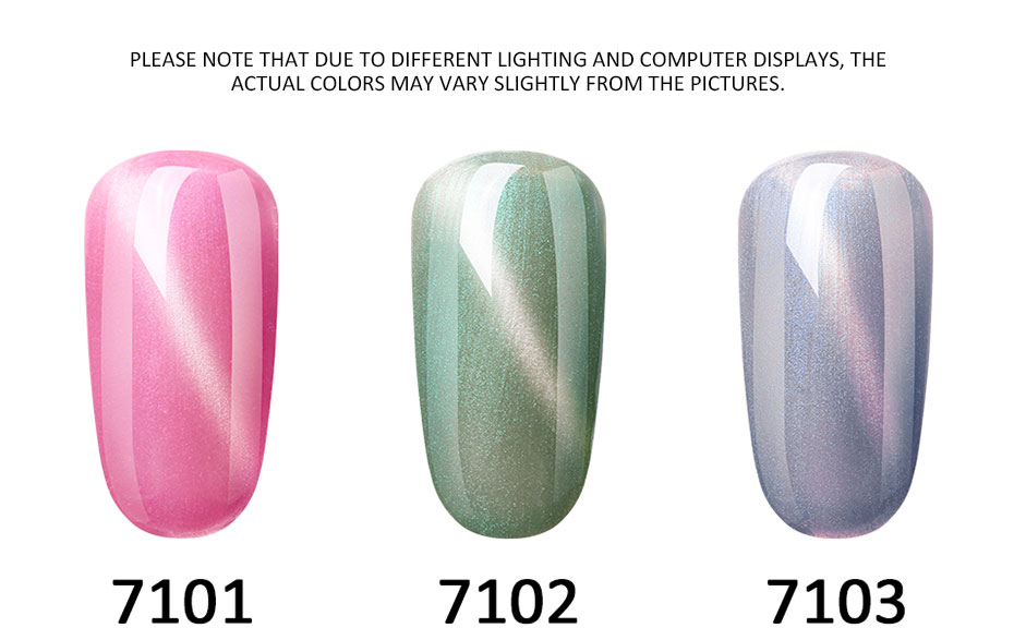 FairyGlo 10ML Nail Gel Varnish Jade Cat Eye Gel Nail Polish Magnet Hybrid Varnish Semi Permanent Nails Lacquer Primer Base Top
