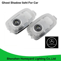 2pc Promotion Car Logo Door Light LED Welcome Light Ghost Shadow Light Laser Lamp Forester Outback