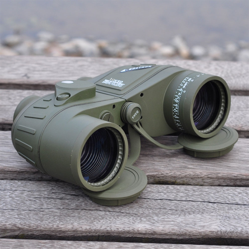 High 10X50 396FT 1000YDS Military Optic font b Binocular b font Waterproof Shockproof Telescope Spotting Scope
