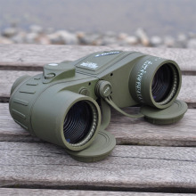 High 10X50 396FT/1000YDS Military Optic Binocular Waterproof Shockproof Telescope Spotting Scope with CompassTravel Concert