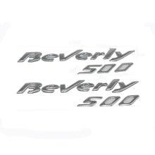 Kodaskin adesivo de cromo emblema 3d para motocicleta, beverly 500