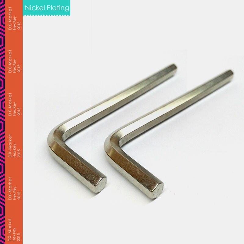4mm, 20vnt / partija, 4mm šešiabriaunis raktas, šešiakampis - Rankiniai įrankiai - Nuotrauka 2