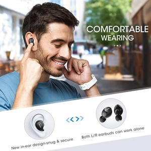 Image 5 - Mpow Original IPX7 Waterproof T5/M5 TWS Bluetooth Earphone Wireless Earbuds Earphones 36h Play Time for iOS Android Smart Phone