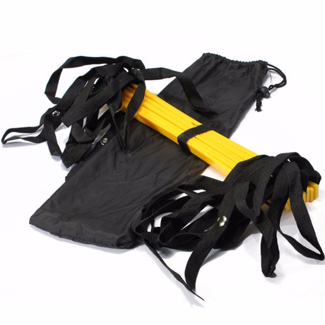 4 Styles Rung Nylon Straps Training Ladders Agility Speed Ladder Stairs for Soccer and Football Speed Ladder Equipment