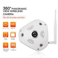 360 Degree 960P Panoramic Wireless Ip Camera System  WIFI P2P Surveillance Camera Automatic IR-Cut P2P Smart Camera