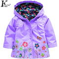 KEAIYOUHUO Spring Girls Jacket Outerwear Children Clothing Baby Girl Clothes Jacket For Girls Boys Waterproof Coat Kids Coatume