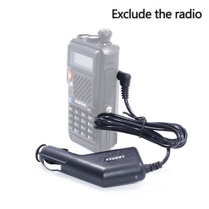 Image 1 - Baofeng 12 36 в вход 8,4 в выход грузовик автомобильное зарядное устройство кабель для Baofeng Walkie Talkie BF UVB3 Plus UV S9 3800mah батарея