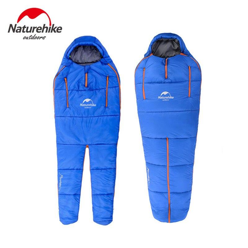 ФОТО Naturehike Ultralight Multifunctional Outdoor Thermal Sleeping Bags Camping Travel Keep Warm outdoor camping adult Sleeping bags