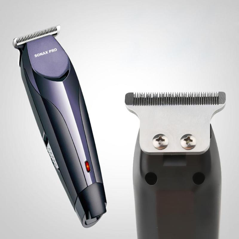 Sonax Pro Portable Electric Hair Clipper Hair Trimmer Beard Cutting Machine Shaver Hairdressing Styling Tools Hair Trimmer Mac in Hair Trimmers from Home Appliances