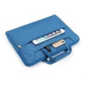 Image 4 - Laptop Bag Case For Apple Macbook Air,Pro,Retina,11,12,13,15 inch laptop Bag. New Air 13.3 inch  Pro 13.3 handbag Denim bag