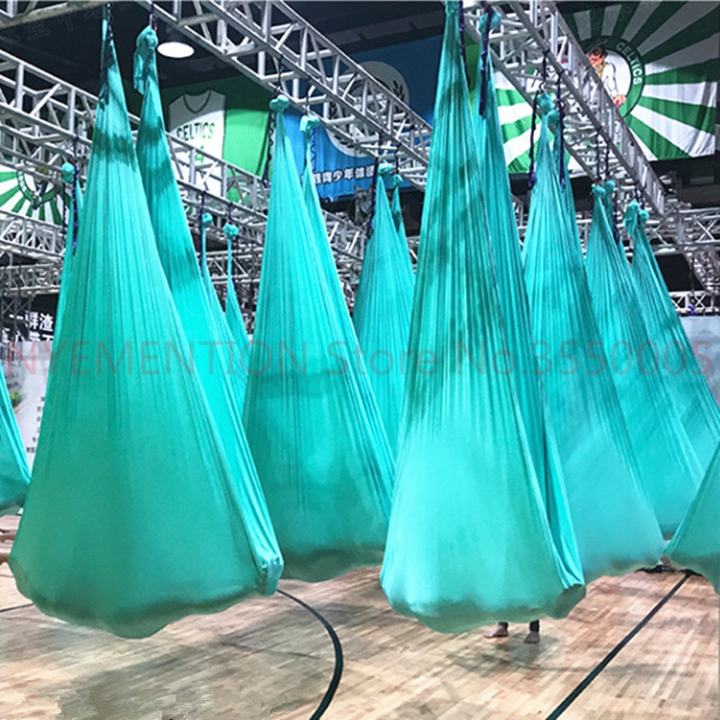 Quality High Strength Aerial Yoga Hammock 4Mx2.8M Full Set 20 Colors Air Hammock-40 Denier Nylon W/daisy chain carabiners 5pcsQuality High Strength Aerial Yoga Hammock 4Mx2.8M Full Set 20 Colors Air Hammock-40 Denier Nylon W/daisy chain carabiners 5pcs