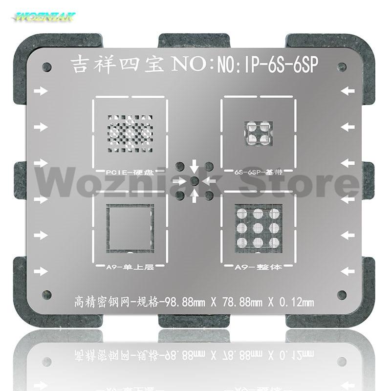 Wozniak WL NAND Chip de CPU BGA Reball Planta de estaño Acero Neto - Juegos de herramientas - foto 3