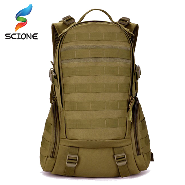 35L Military Tactical Assault Pack Backpack Army Molle Waterproof Bug Out Bag  Small Rucksack for Outdoor Hiking Camping Hunting 67ed92dc3a604