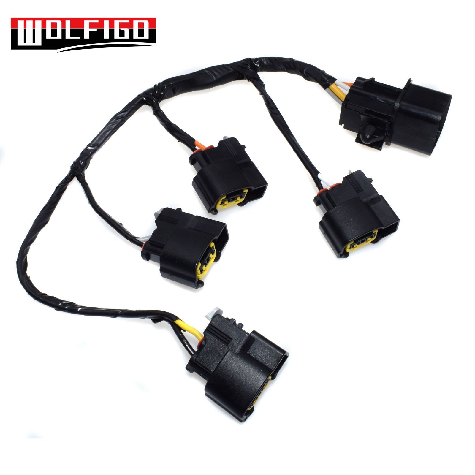 wolfigo new ignition coil wire harness for hyundai kia veloster rio 1 6l 27350 2b000 27350 2b000 273502b000 [ 1600 x 1600 Pixel ]