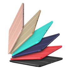 цена на Case For Xiaomi Mi Pad 4 8.0 Inch Silicone Smart Cover Magnetic Auto Sleep Pu Leather Case For Xiaomi Mipad4 / Mipad 4