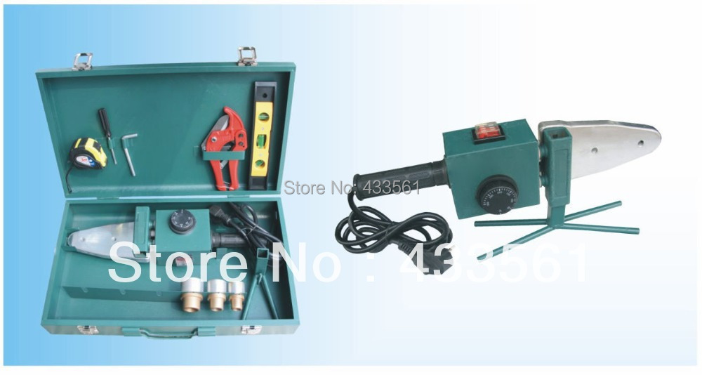 Portable welding machine/Socket fusion equipment in Size DN20-32 with the voltage 220/110 for PE( plastic) pipe fittings Connect  цены