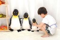 Free Shipping Wholesale Retail 55cm Happy Madagascar Penguin Plush Toy Pillow Cushion Creative Christmas Children Birthday