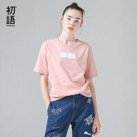 Toyouth القمصان مضحك مطبوعة الصيف تي شيرت للمرأة الصلبة الزى قمم القطن قصير الأكمام جولة الرقبة camiseta الأنثوية