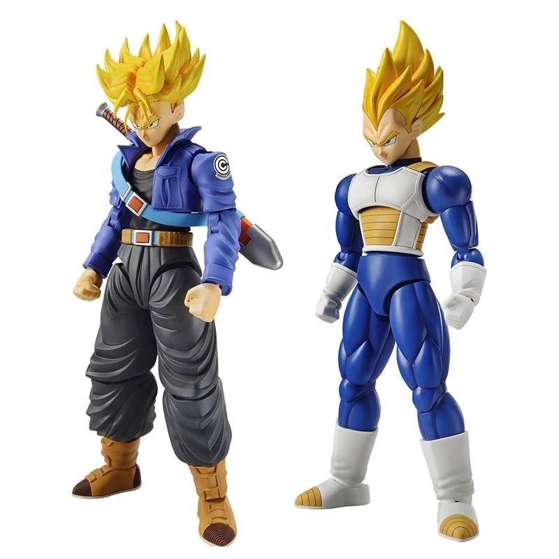 Dragon Ball Z Figure-Rise Standard Trunks & Vegeta Building Kit Japan Anime Collectible Mascot Toys 100% Original