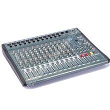цена на MICWL YU3512 New USB 12 Channel stage audio DJ Karaoke Mixer Mixing console mesa dj Preamplifie