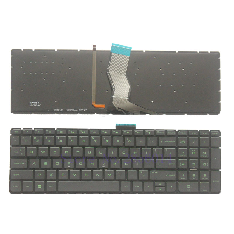 New for HP Pavilion 15-ABxx 15-AB000 15-ab200 series laptop keyboard US no frame