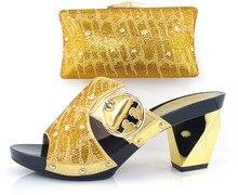 Italienische Schuhe Mit Passenden Taschen Hochwertigen Für Item103 party Italien mode dame Schuhe mathing Taschen Kostenloser Versand