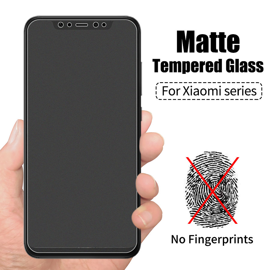 Cellphones & Telecommunications Jappinen 2pcs/lot Matte Frosted Tempered Glass For Xiaomi Mi 8 Lite Se A2 6x 5x Max 2 3 Mix 2 2s 3 Screen Protector Film Refreshing And Enriching The Saliva