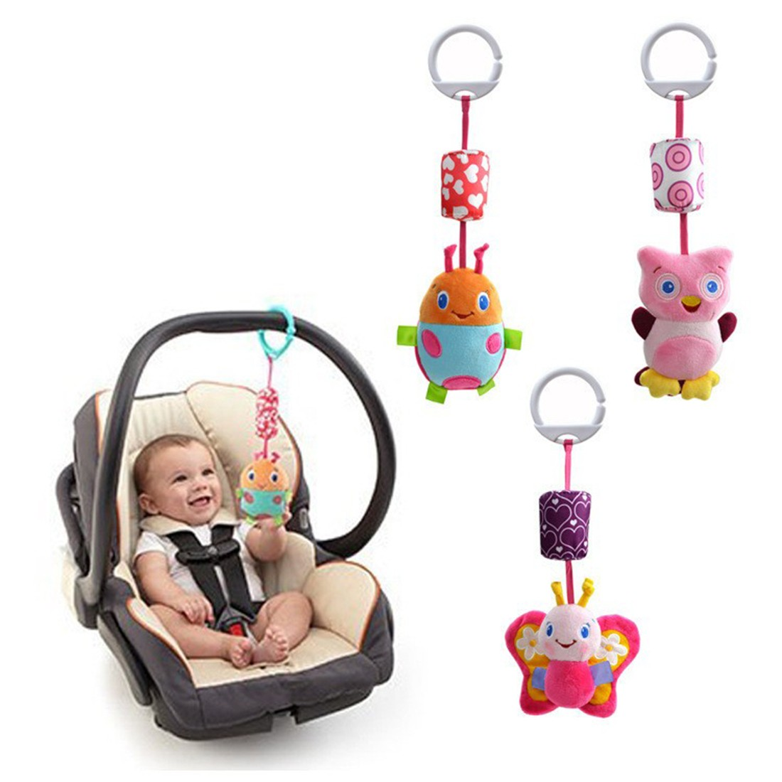 modern baby mobile promotionshop for promotional modern baby  - new fashion infant toys mobile baby plush toy bed wind chimes rattles belltoy stroller for newborn