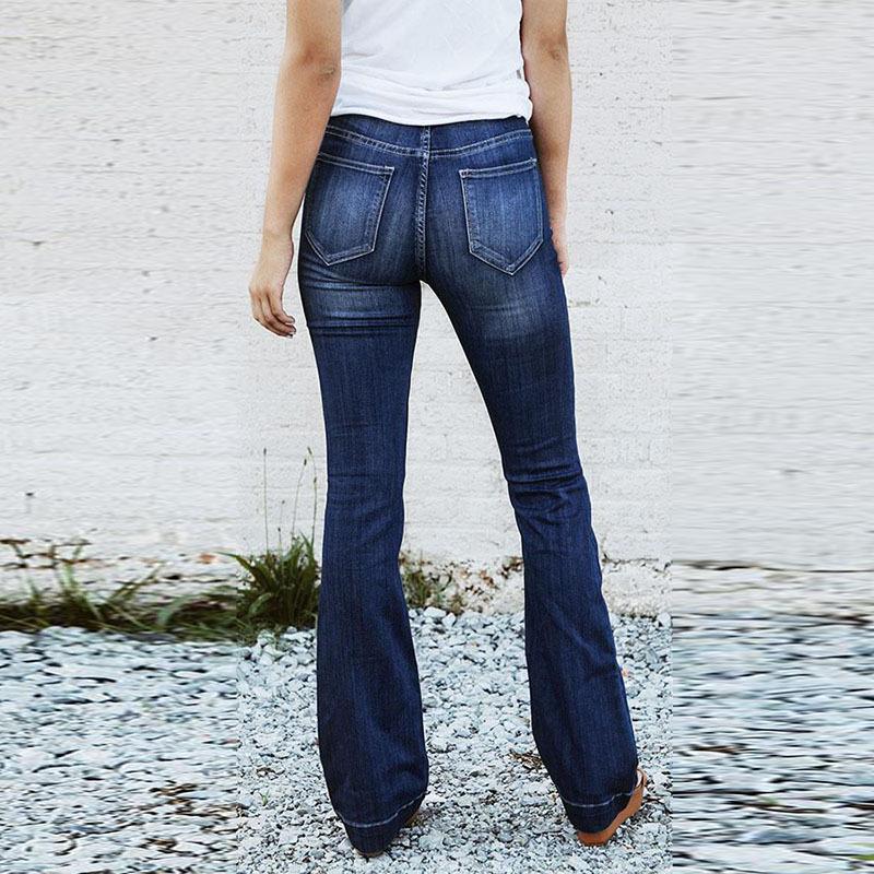 Calças de ganga para Mulheres 2018 Jeans Queimado Mulheres Incendiar ... 8bf88b3937