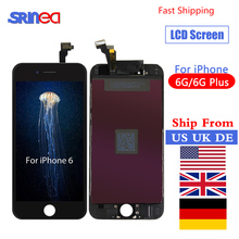 цена на Grade AAA+++ For iPhone 6 Plus 6plus LCD With 3D Force Touch Screen Digitizer Assembly Display No Dead Pixel Ship From US UK DE