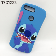 For Huawei Y6 Prime 2018 Case Honor 7C AUM-L41 Pro Cartoon Cute Stitch Silicone Cover Bag 7A Cases