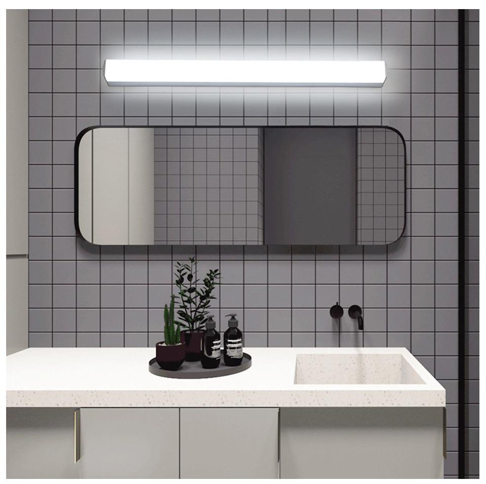 Modern LED Mirror Light 12W 16W 22W Wall Lamp Light Fixture Sconce Acrylic Wall Mounted Bedroom Bathroom Fixtures Vanity Light (6)