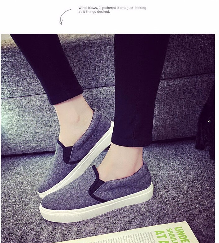 Free Shipping Spring and Autumn Men Canvas Shoes High Quality Fashion Casual Shoes Low Top Brand Single Shoes Thick Sole 7583 -  -  -  -  -  -