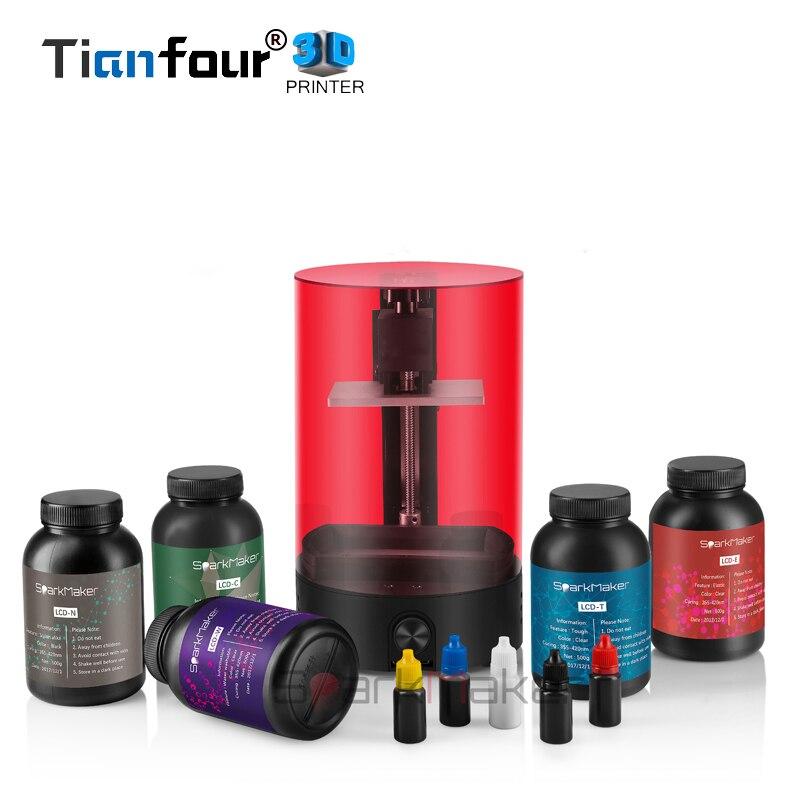 Tianfour Sparkmaker UV Resina SLA/DLP/LCD 3d stampante