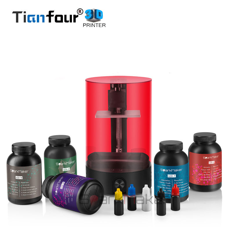 Tianfour Sparkmaker UV Resina SLA/DLP/LCD impressora 3d