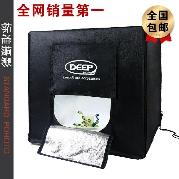 Adearstudio 60 см фототехника свет палатки фотостудия light box софтбокс съемки Светодиодные Studio Light BOX CD50