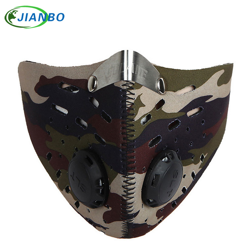 Motorcycle Riding Bicycle Motorcycle Face Mask Carbon Filter Mask Snowboard Ski Protection Thermal Windproof Mask Outdoor Sports