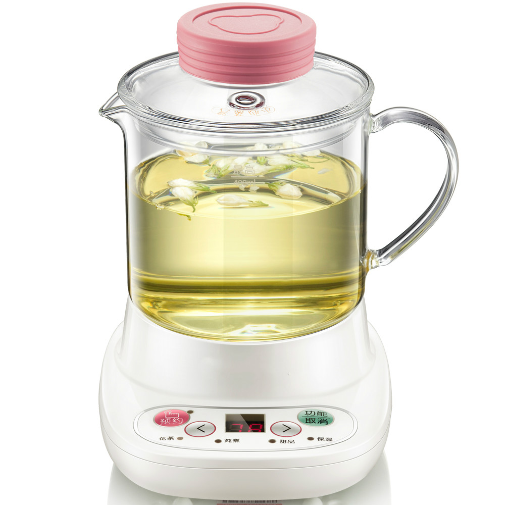 Miniature health  raising pot full automatic  thickened glass office small tea-pot/electric kettle  Safety Auto-Off Function free shipping multifunctional health pot kettle with thick glass automatic tea insulation safety auto off function
