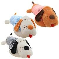 1 unids 70or90cm Ultra raya bajo costo de peluche de juguete gigante mentir propensos papa perro muñeco de peluche lindo almohada creativo muñecas envío gratis