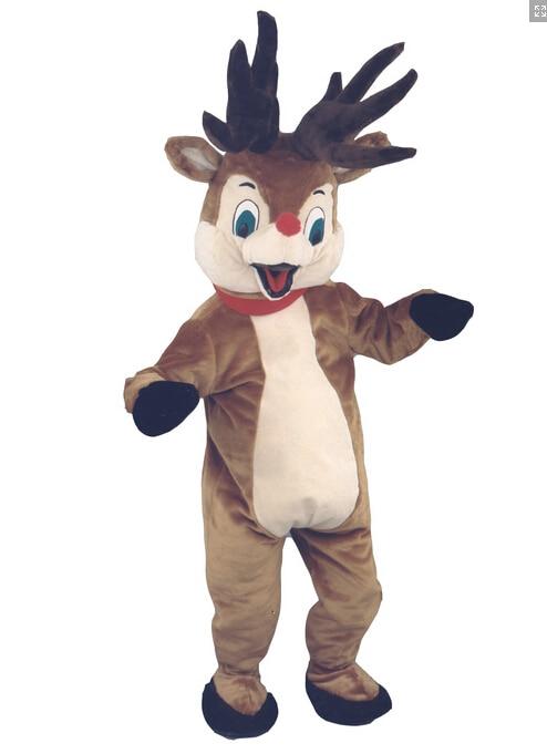 Milu Deer Mascot Costume Cartoon Character Costume cosplay mascot Custom Products custom made(s.m.l.xl.xxl) free shipping
