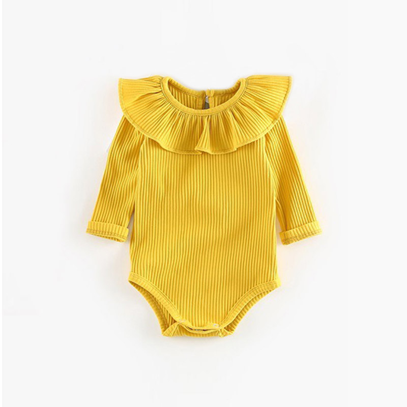 yellow girl romper