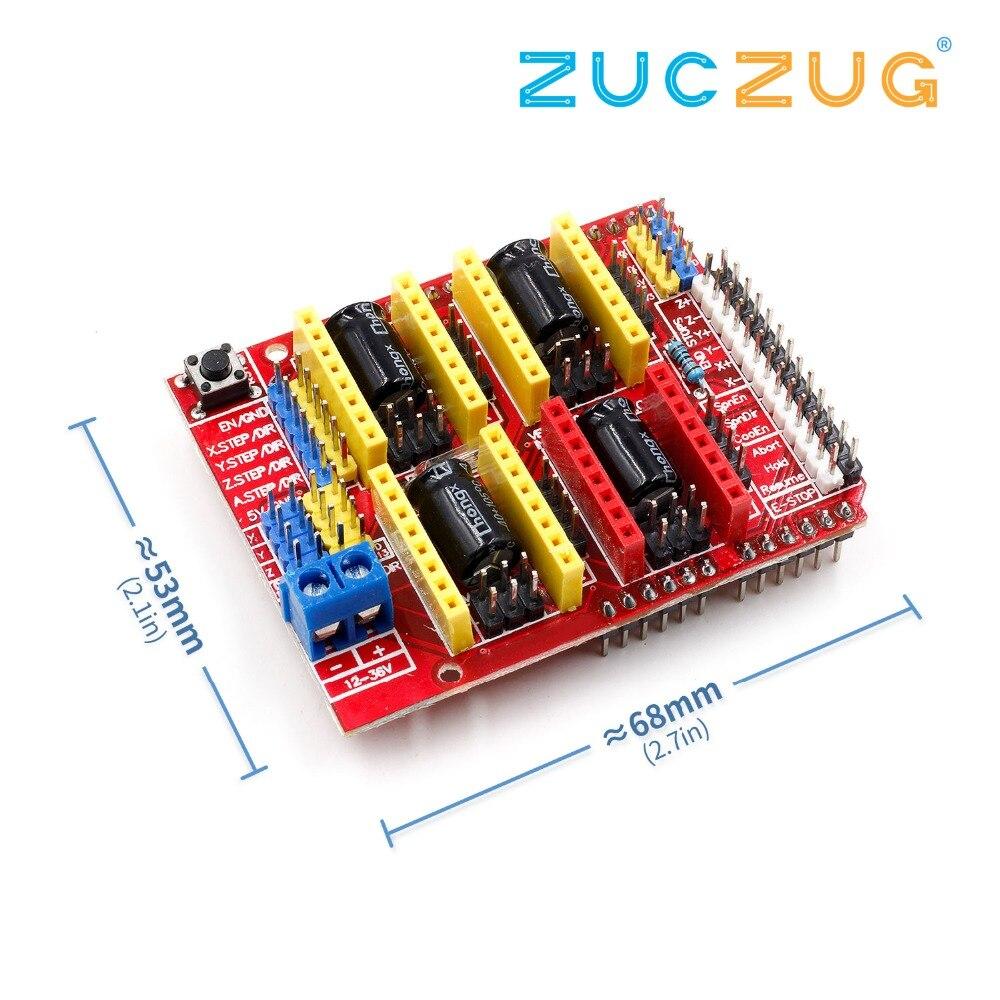 V3 Engraver Shield 3D Printer CNC For Arduino CNC Shield V3