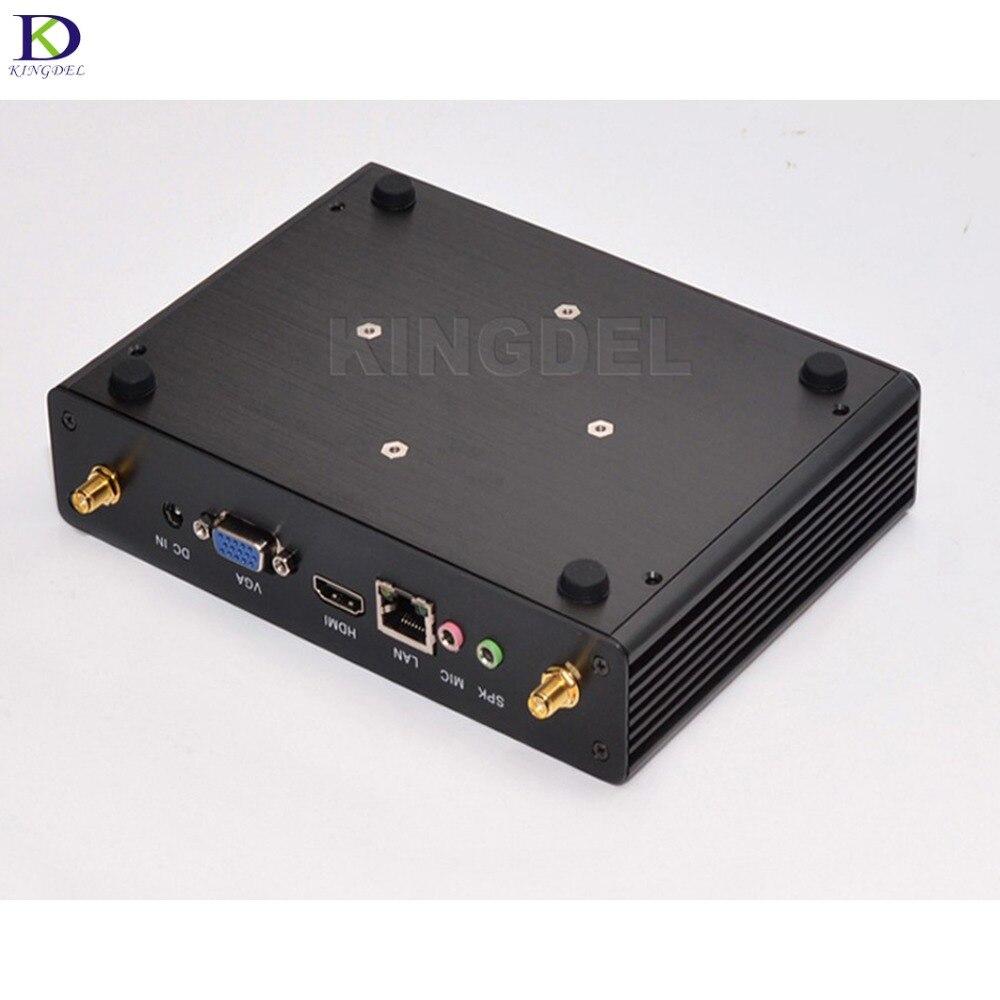 New Mini PC,Nettop,Small Home Computer,Intel Celeron 2980U/3215U,Intel HD Graphics,USB3.0,LAN,WiFi,HDMI+VGA,Windows10,Fanless