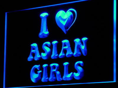 i849 Asian Girls Sex Enseigne Lumineuse Light Sign On/Off Swtich 20+ Colors 5 Sizes
