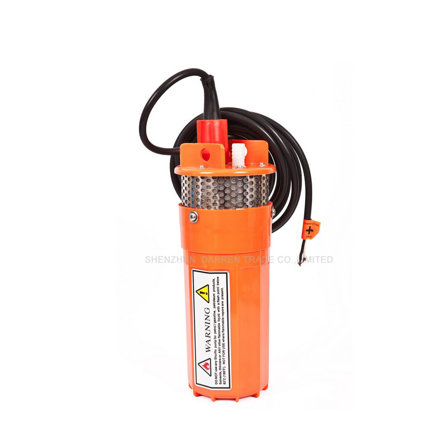 1PC 12/24V Solar water Pump Solar DC submersible deep well high head well pumps DC Solar water Pump