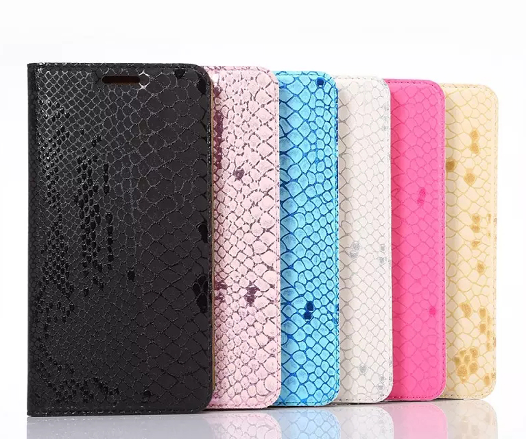 New Cool Snake Skin Flip Wallet Leather Case Card Slot Cover For iPhone 7 7 Plus Fancy Ultra Thin Soft TPU Silicon Fashion Bags visa