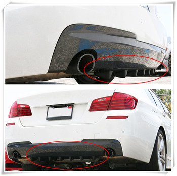 car Rear Lip air Diffuser Fin for BMW 530Li 335i 750i 330i 325i 320si 630i X6 M6 640i 640d 760Li 320d 135i image