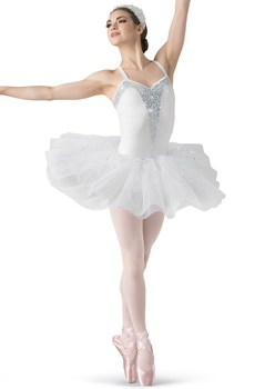White Swan Dance Skirt Adult Stage Performance Costumes Professional Ballet Costumes Leotards For Women Ballet Costumes Dress