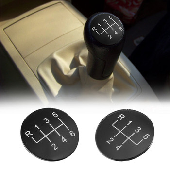 5 Speed 6 Speed Gear Stick Shift Knob Cover Cap for BMW 1 3 5 6 Series X1 X3 X5 E82 E90 E91 E60 E63 E83 E84 E53 Plastic image